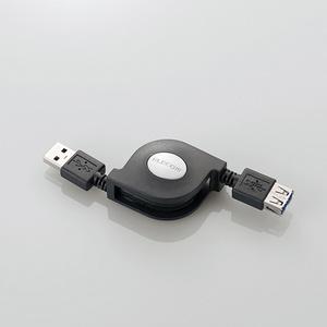 巻き取りUSB3.0延長ケーブル(A-A)(USB3-RLEA07BK)