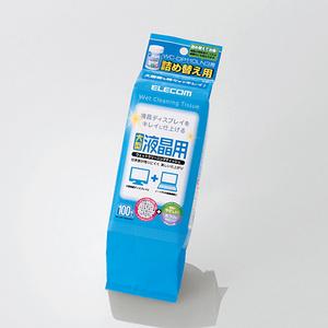 液晶用ウェットクリーニングティッシュ(WC-DP100LSP3)