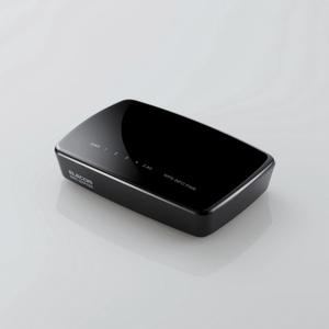 11b/g/n 300Mbps 無線LANルーター(WRC-300FEBK-A)