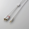 Audio system cable (AVD-IPCLR1WH) for iPod