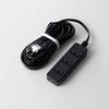 TV用ほこり防止シャッター付タップ(AVT-ST02-2450BK)