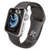 Apple Watch 42mm用フルカバーフィルム/衝撃吸収/2枚入り/光沢(AW-42FLAFPRG)