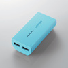 タブレット・スマートフォン用モバイルバッテリー(DE-M01L-5230BU)