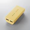 タブレット・スマートフォン用モバイルバッテリー(DE-M01L-5230YL)