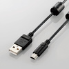 カメラ接続用USBケーブル(mini-Bタイプ)(DGW-MF05BK)