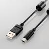 カメラ接続用USBケーブル(mini-Bタイプ)(DGW-MF15BK)