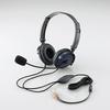 ヘッドセット(両耳オーバーヘッド)(HS-HP20BU)
