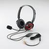 ヘッドセット(両耳オーバーヘッド)(HS-HP20RD)