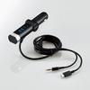 フルチャンネル対応FMトランスミッター/φ3.5+micro(LAT-FM3MB01BK)