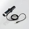 フルチャンネル対応FMトランスミッター/φ3.5+USB(LAT-FM3UB01BK)