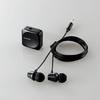 Bluetooth (R) receiver (LBT-PHP01AVBK) with stereo headphones