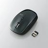5ボタンワイヤレスBlueLEDマウス(M-BL21DBBK)