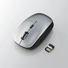 5ボタンワイヤレスBlueLEDマウス(M-BL21DBSV)