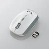 5ボタンワイヤレスBlueLEDマウス(M-BL21DBWH)