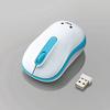 無線Mサイズマウス(3ボタン)(M-DY11DRBU)