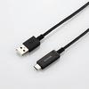 USB2.0ケーブル(温度検知機能付き、A‐C)(MPA-AC18SNBK)