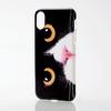 iPhone X用ソフトケース/テクスチャー/animal eye(PM-A17XUCAT05)