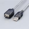 マグネット内蔵USB延長ケーブル(USB-EAM2GT)