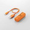 300MbpsWi-Fiポータブルルータ USBケーブル付き(WRH-300DR3-S)