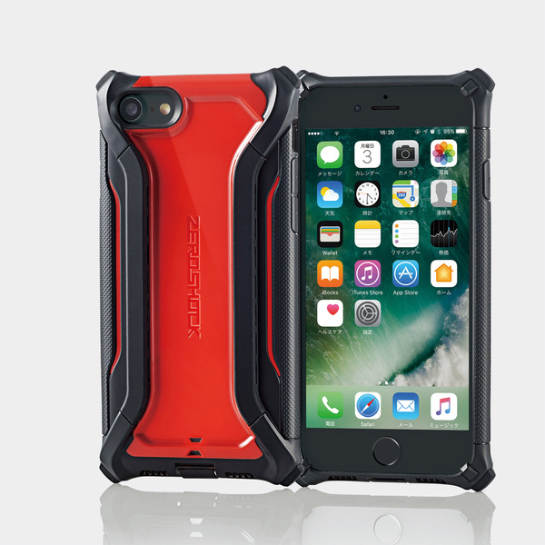 5c204d1884 iPhone 7用ZEROSHOCK α - PM-A16MZEROHRD