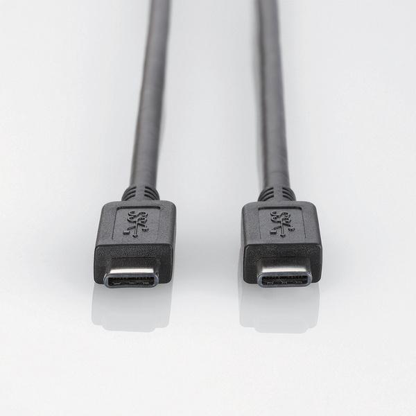 black 1.5m USB3-CC15BK Elecom USB3.1 cable TypeC-TypeC