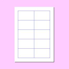 名刺 pdf 印刷 a4