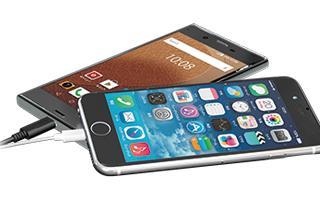スマートフォンを約2.1回充電可能