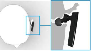 装着感の品質を実現するイヤホン形状