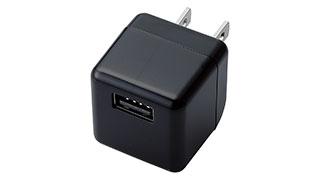 コンセントからiPod/iPhoneを充電。キューブ型USB充電器