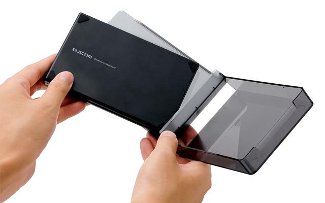 持ち運びに便利なワイヤレスタブレットスタンド